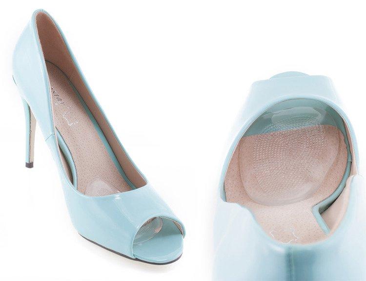 wkładki do butów sandały na obcasie